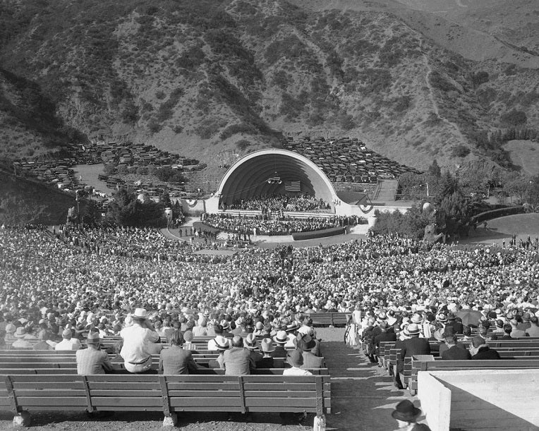 Hollywood Bowl 1922 Print