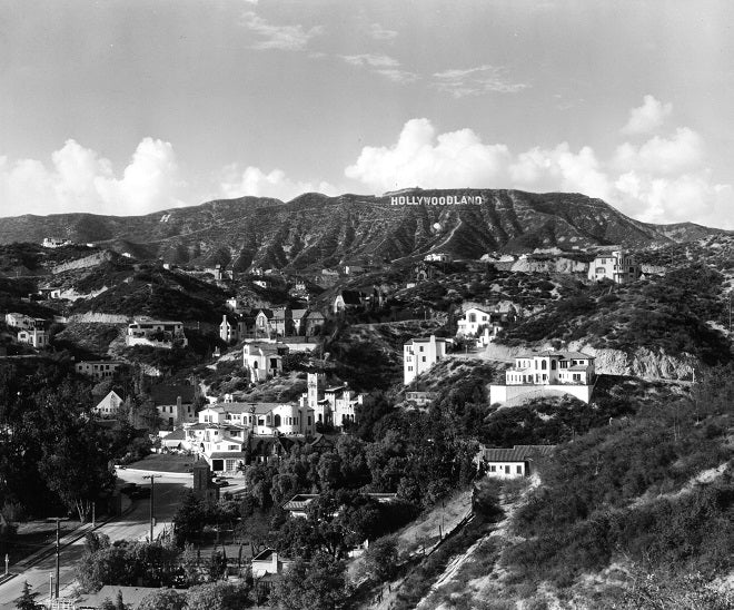 Hollywoodland 1923 Print