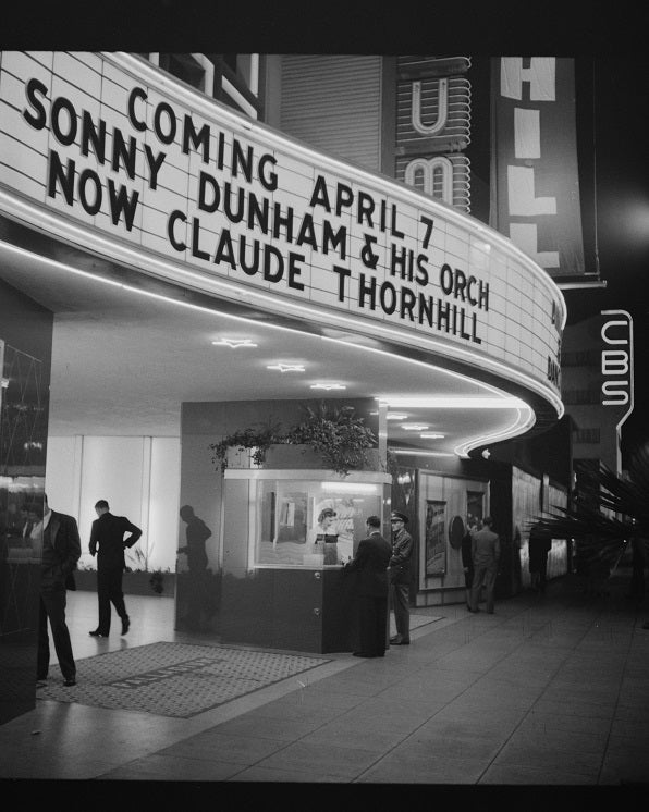 Hollywood Palladium 1942 Print