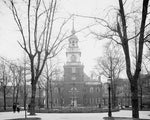 Independence Hall 1905 Print