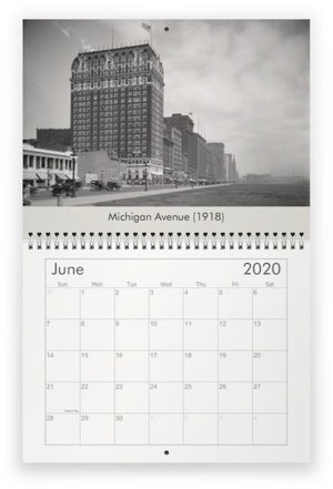 Historic Chicago 2020 Calendar