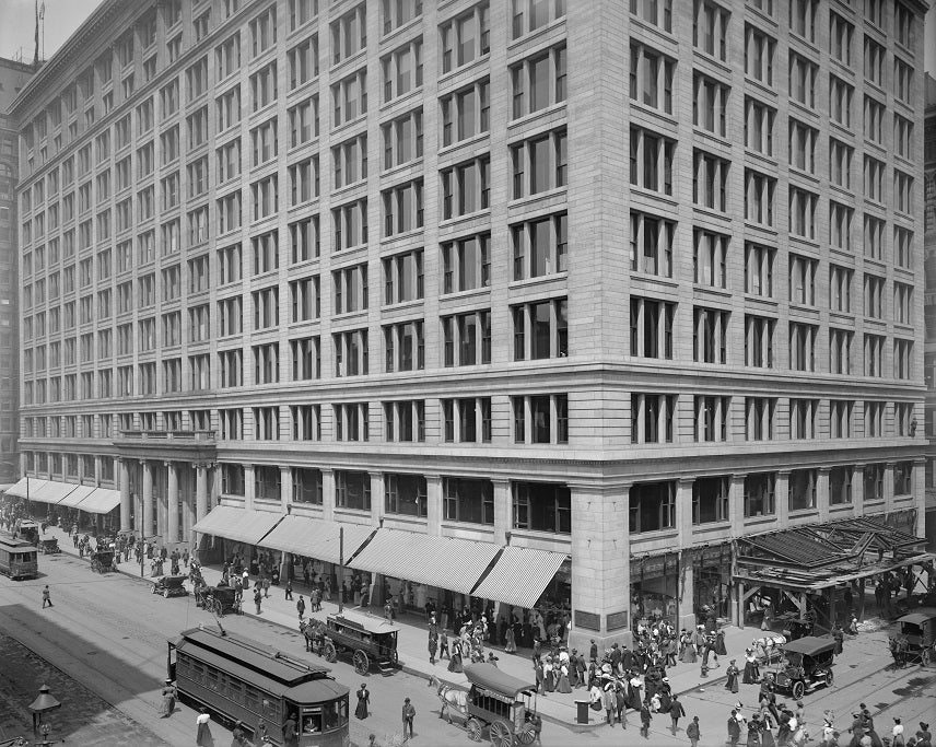 Marshall Fields 1907 Print