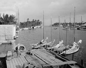 Miami River at Biscayne Bay 1910 Print