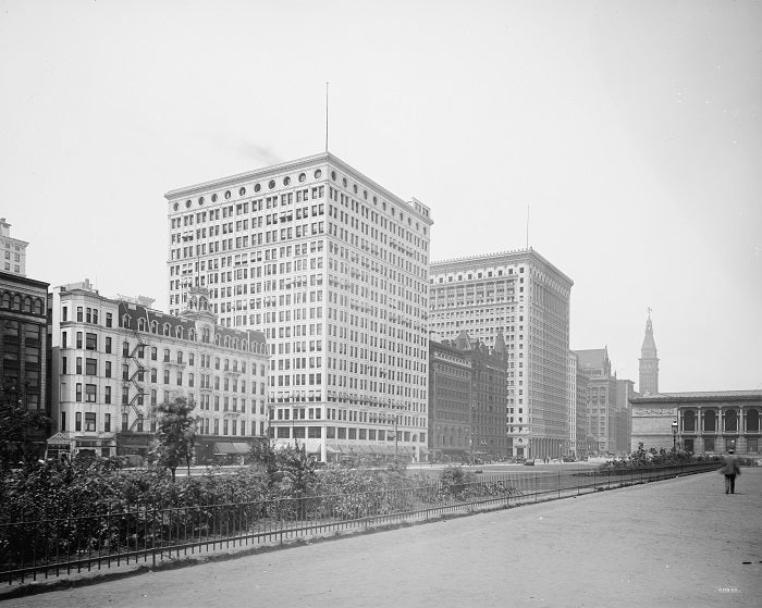 Michigan Avenue 1912 Print