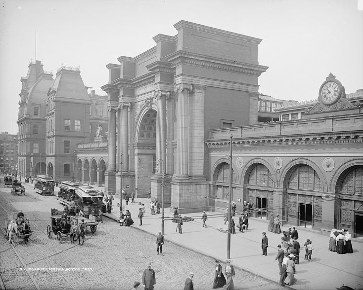 North Station 1905 Print