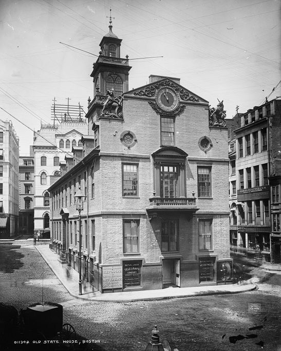 Old State House 1890s Print