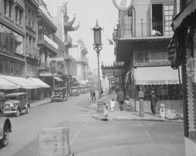San Francisco's Chinatown 1920s Print