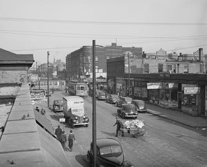 South Side Chicago - 47th Street 1941 Print