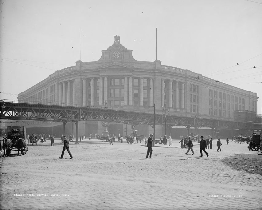 South Station 1905 Print