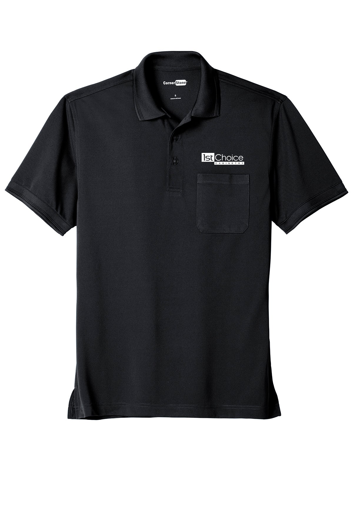 Men's Cornerstone Industrial Snag-Proof Pocket Polo