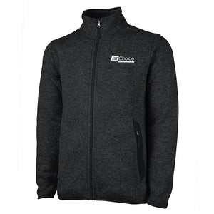 Men's Charles River Heathered Fleece Jacket