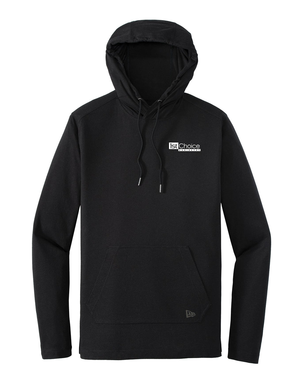 Men's New Era Tri Blend Performance Pullover Hoodie T-Shirt