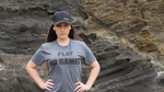 PLAY NO GAMES - CHARCOAL UNISEX T-SHIRT