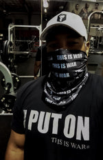 THIS IS WAR DRY-FIT MULTIPURPOSE BANDANNA