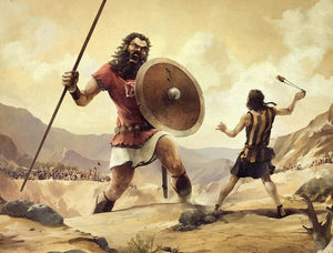 Time to be David and defeat Goliath!