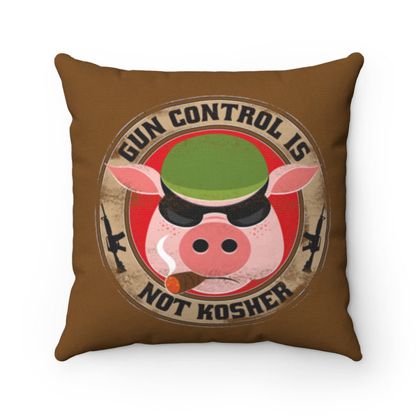 Gun Control Is Not Kosher Pillow