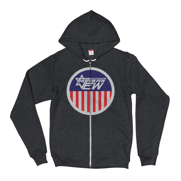 The PPJ Star & Stripe Zip Hoodie