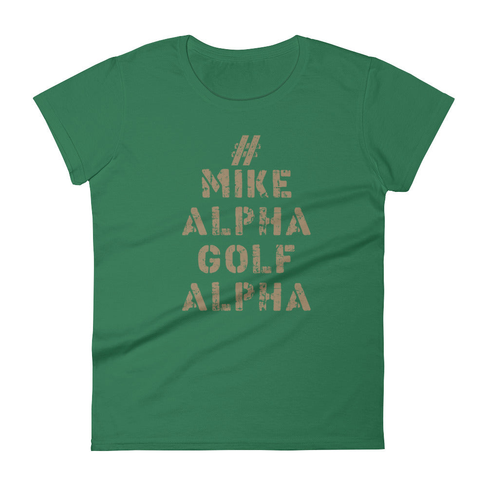 Mike Alpha Golf Alpha