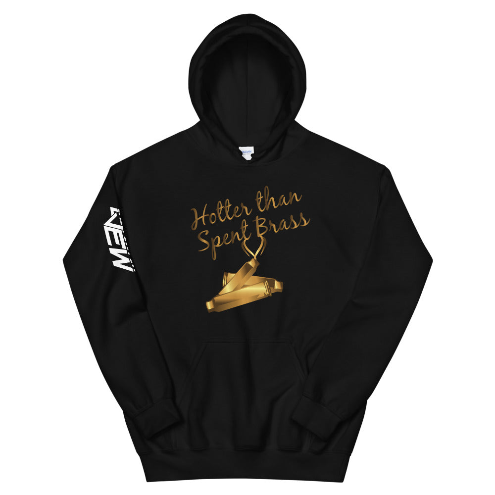 Hotter Than Spent Brass Hoodie