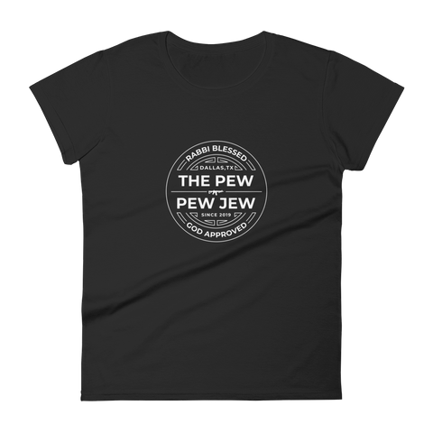 The Official The Pew Pew Jew Stamp (WOMENS)