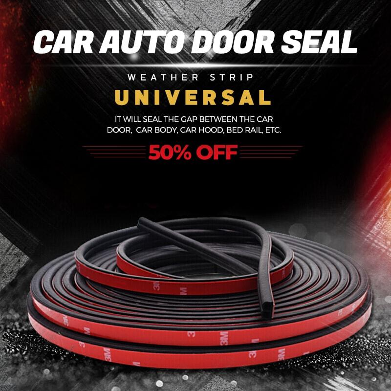 Universal Rubber Car Auto Door Seal Weather Strip