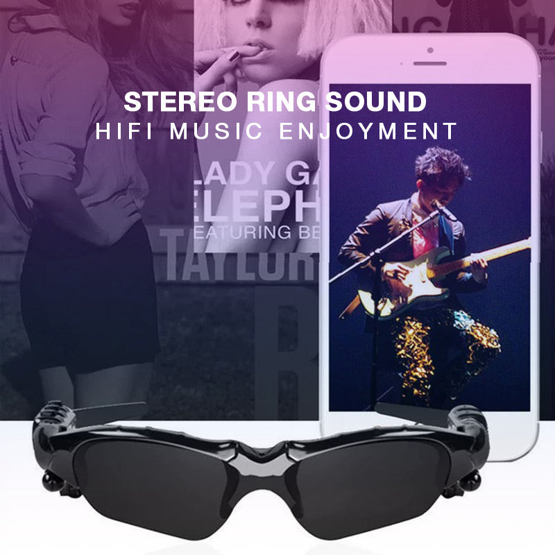 Smart Bluetooth Sunglasses Stereo Handsfree Headset