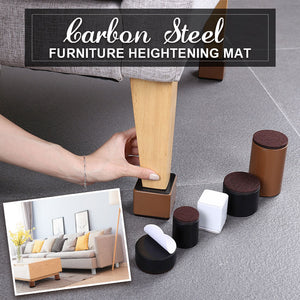 Carbon Steel Furniture Heightening Mat(4PCS)