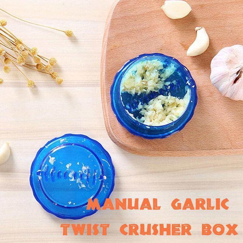 Manual Garlic Twist Crusher Box(50% OFF)