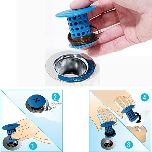 Bathtub drain strainer(2PCS)