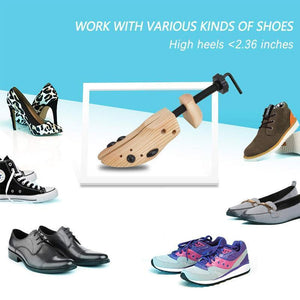 (Limited Time Promotion-50% OFF) Wooden Shoe Stretcher