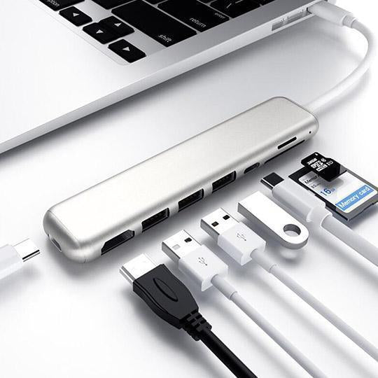 Eight-in-one Macbook Extender
