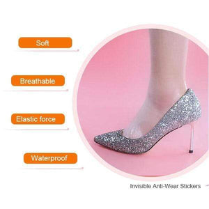 Self-adhesive Invisible Heel Anti-wear Sticker