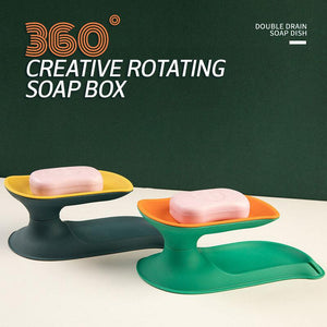 360° Creative Rotating Soap Box