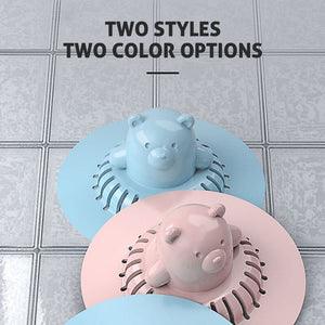 3D Cute Shape Silicone Hair Stopper