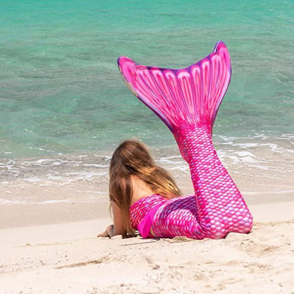 Fishtail Women Girls Swimsuit