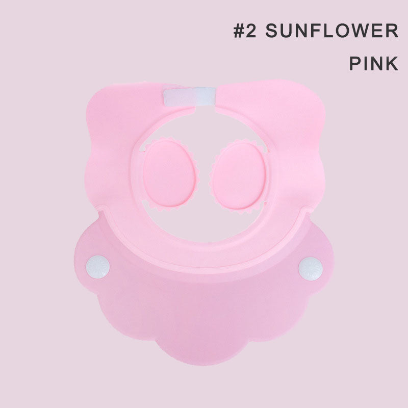 Adjustable Children's Ear Protection Shampoo Cap