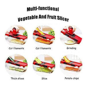 Multi Purpose Vegetable and Fruit Slicer Cutter