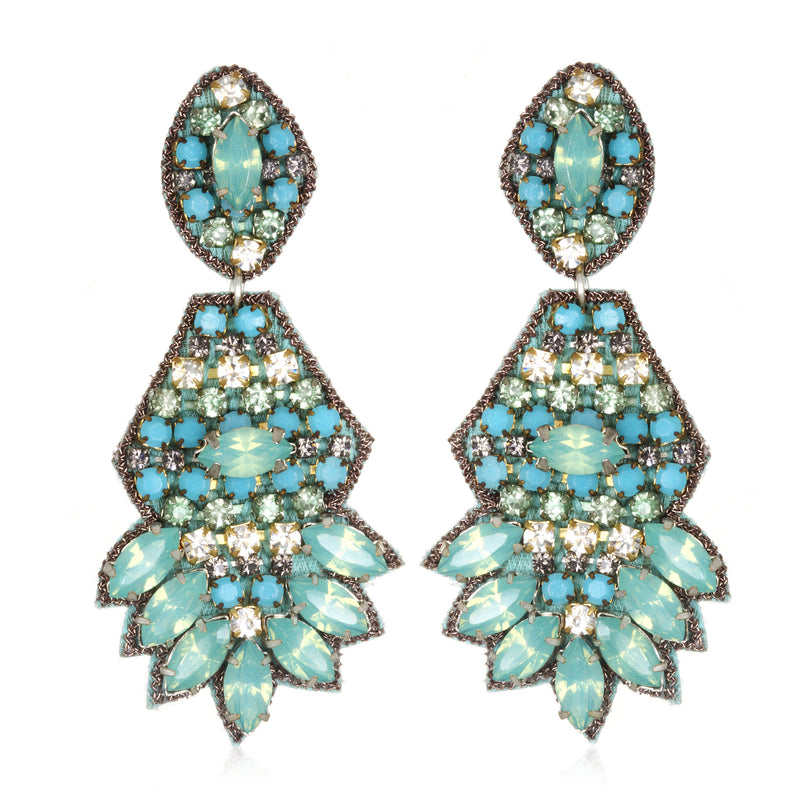 Pompei Drop Earrings - Suzanna Dai