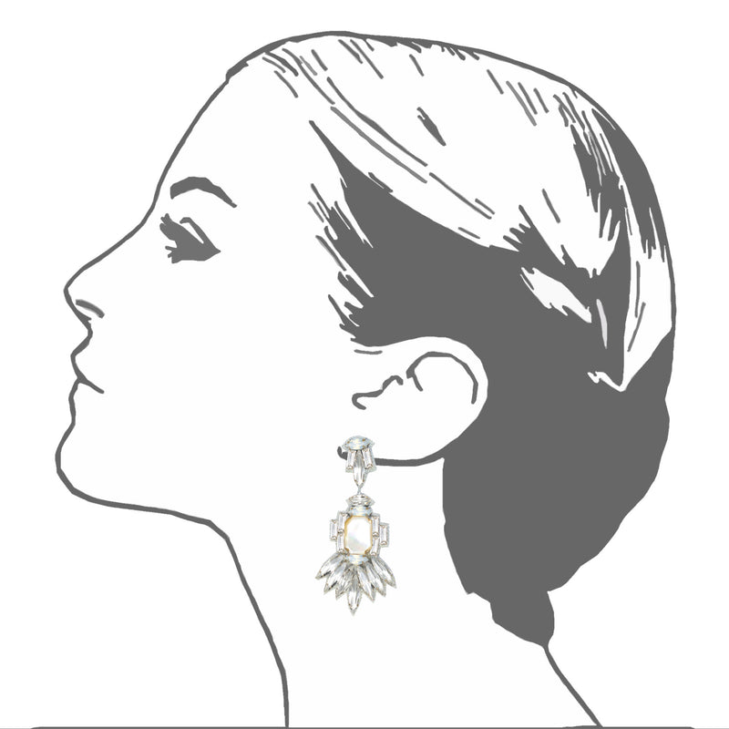 Ischia Drop Earrings - Suzanna Dai