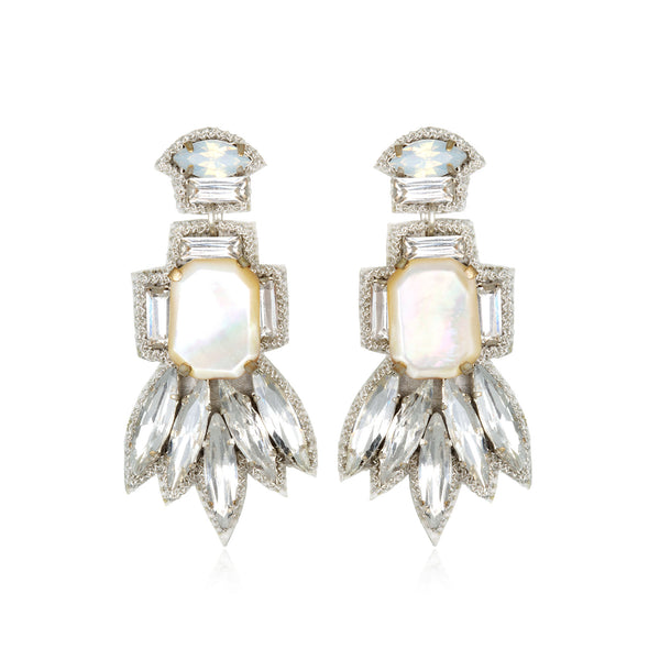 Ischia Small Drop Earrings - Suzanna Dai