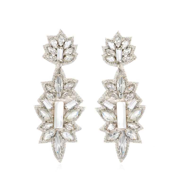 Bari Drop Earrings - Suzanna Dai
