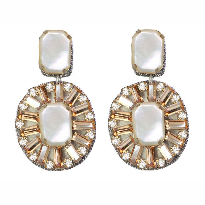 Lombardo Drop Earrings - Suzanna Dai