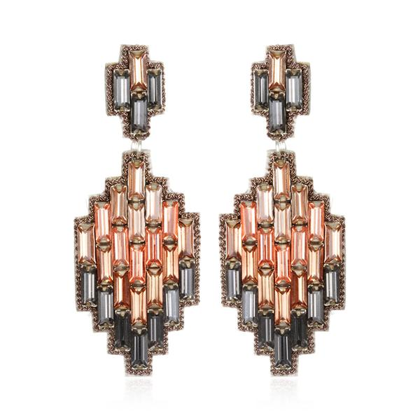 Vietri Ikat Drop Earrings - Suzanna Dai