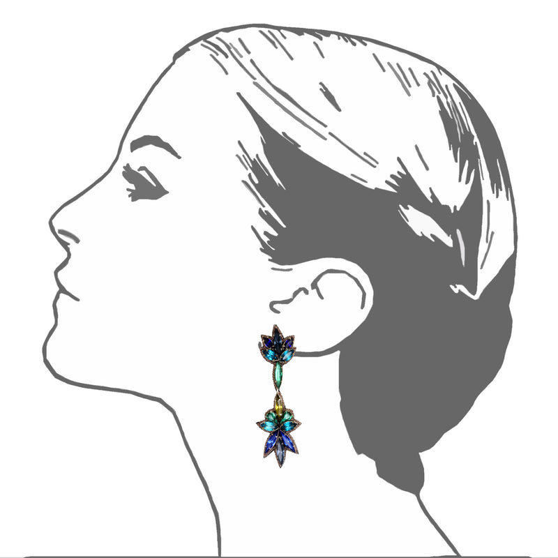 Sorrento Drop Earrings - Suzanna Dai