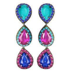 Murano Drop Earrings - Suzanna Dai