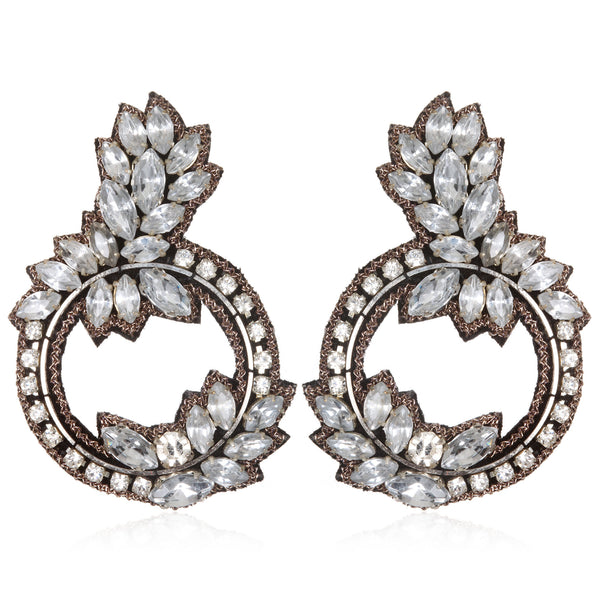 Edwardian Hoop Earrings - Suzanna Dai
