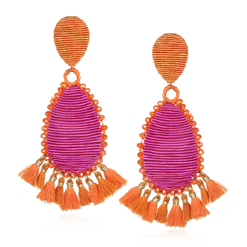 Exuma Tassel Earrings - Suzanna Dai
