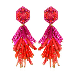 Fiesta Tassel Earrings - Suzanna Dai