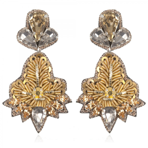 Vicenza Small Drop Earrings - Suzanna Dai