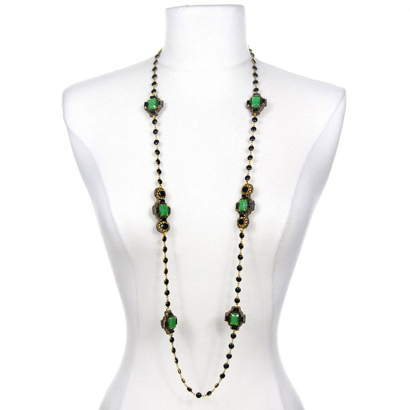 Emerald City Illusion Necklace - Suzanna Dai
